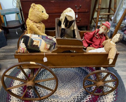 Wagon full of toys Antiques